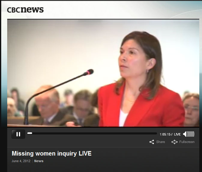 Missing Women EInquiry